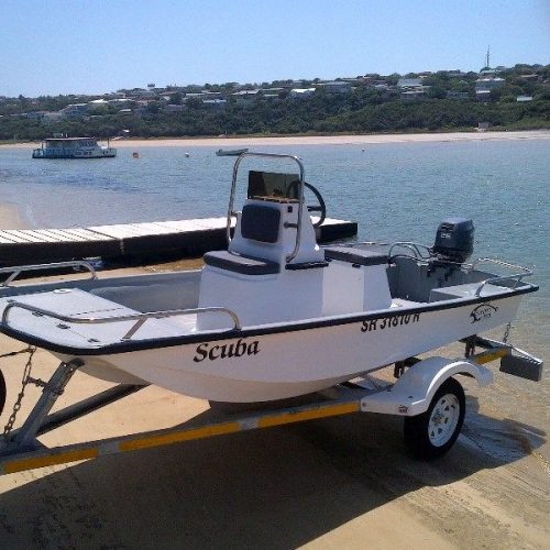 Bandit 380 cathedral hull - centre console