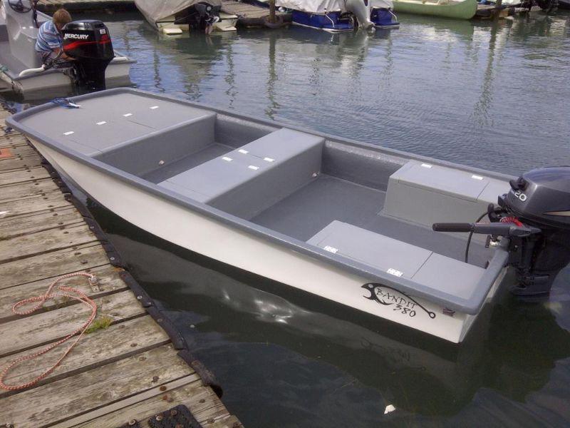 Bandit 380 cathedral hull tiller   Natal Power Boats