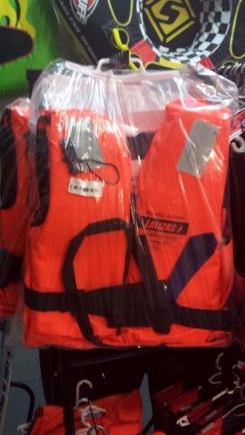 Lalizas- SAMSA Approved Neon Orange Life Jackets