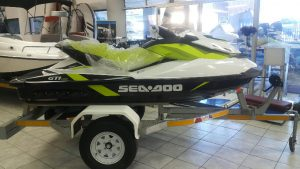 Sea-Doo GTI 130 on trailer (K415)