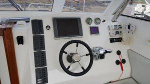 Citation 900 cabin: 2x300hp Verado Mercury motors