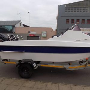 NEW Gamefish 510 - Pre owned 2 x 60 Hp Mercury four strokes