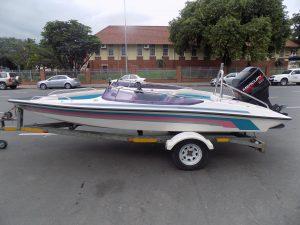 Miami sport 16 ft on trailer 90 hp mercury trim & tilt