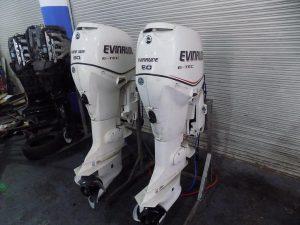 Evinrude ETECS 2 X 90hp