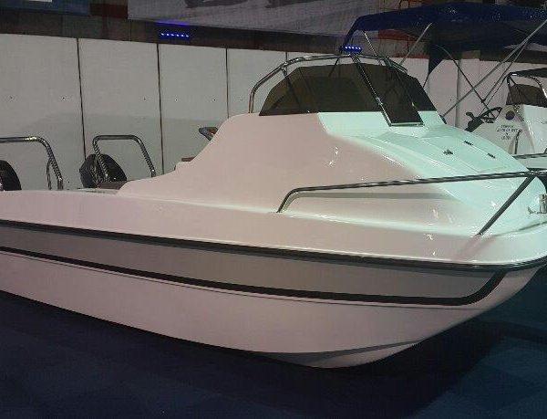 Gamefish 510 cat Forward console with 2 X40hp Suzuki stroke motors - BRAND NEW