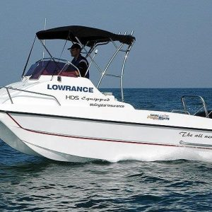Gamefish 510 cat forward console