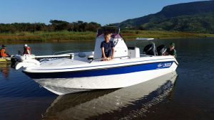 Gamefish 170 mono -2*30hp EFI 4 stroke lean burn engines