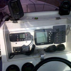 Swift 165 centre console