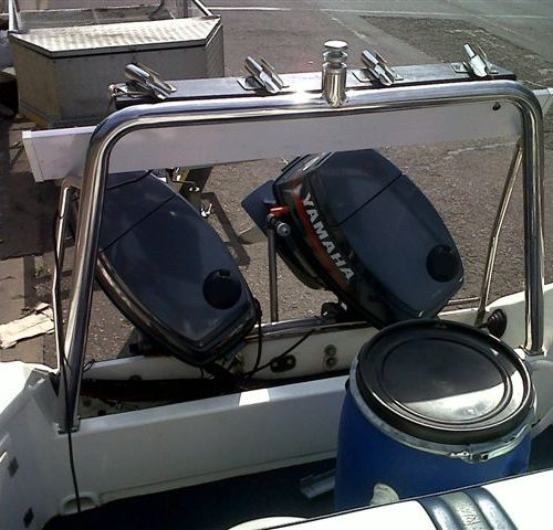 Swift 165 centre console