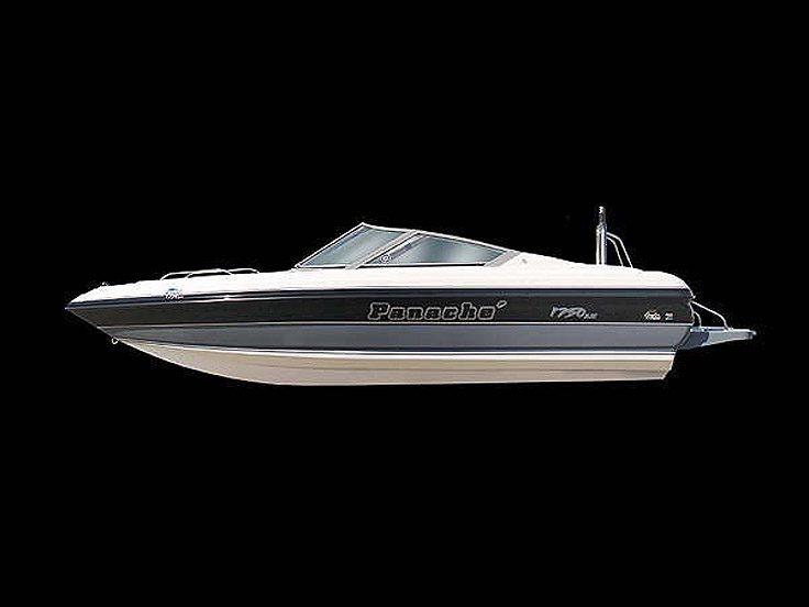 Panache 1750 bow rider outboard
