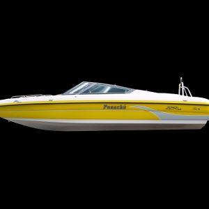 Panache 2450 bow rider outboard