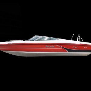 Panache 2250 bow rider outboard