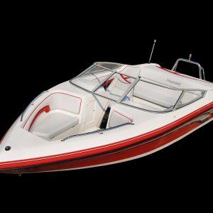 Panache 2150 bow rider outboard