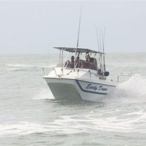 V Cat 19ft Forward console